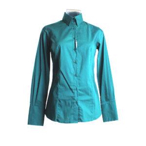Camicia da Donna color Azzurro di Yes Zee stocchisti stock grossisti ingrosso abbigliamento firmato donna uomo accessori firmati grandi firme emilia romagna