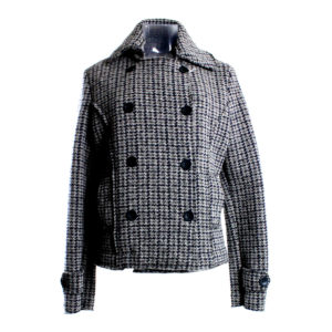 Cappotto da Donna color Grigio di Yes Zee stocchisti stock grossisti ingrosso abbigliamento firmato donna uomo accessori firmati grandi firme emilia romagna