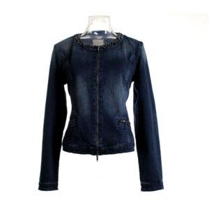 Giacchino da donna di Fracomina in Jeans stocchisti stock grossisti ingrosso abbigliamento firmato donna uomo grandi firme emilia romagna