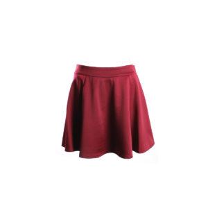 Gonna Corta da Donna di Yes Zee color Rosso stocchisti stock grossisti ingrosso abbigliamento firmato donna uomo accessori firmati grandi firme emilia romagna