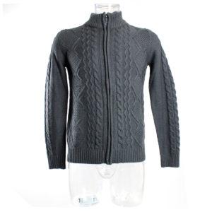 maglione-zip-grigio-uomo-yes-zee-ingrosso-abbigliamento-grandi-firme-continuativo
