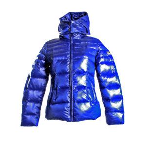 Piumino da Donna di Yes Zee color Blu stocchisti stock grossisti ingrosso abbigliamento firmato donna uomo accessori firmati grandi firme emilia romagna