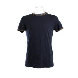 T-shirt da Uomo di Yes Zee color Blu Scuro stocchisti stock grossisti ingrosso abbigliamento firmato uomo donna accessori firmati grandi firme emilia romagna