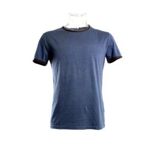 T-shirt Blu Chiaro da Uomo a Manica Corta di Yes Zee stocchisti stock grossisti ingrosso abbigliamento firmato uomo donna accessori firmati grandi firme emilia romagna