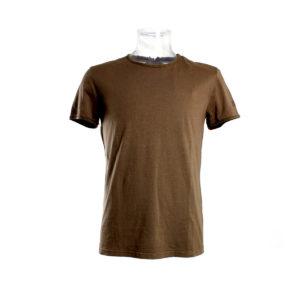 T-shirt da Uomo color Marrone di Yes Zee stocchisti stock grossisti ingrosso abbigliamento firmato uomo donna accessori firmati grandi firme emilia romagna