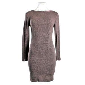 Abito YES-ZEE di colore viola maculato collezione autunno inverno capo continuativo abbigliamento firmato donna ingrosso stock stocchisti grossisti