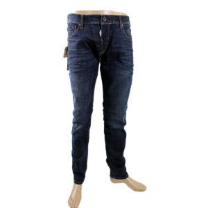 Jeans ANTONY MORATO di colore Blu scuro collezione autunno inverno capo continuativo abbigliamento firmato uomo stock ingrosso stocchisti grossisti