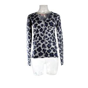 Cardigan SH maculato collezione autunno inverno prodotto continuativo donna abbigliamento firmato donna ingrosso stock stocchisti grossisti
