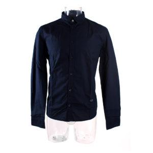 Camicia da uomo GUESS di colore Blu collezione autunno inverno capo continuativo abbigliamento firmato uomo ingrosso grossisti stock stocchisti