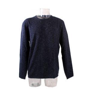 Maglia GUESS da uomo di colore Blu collezione autunno inverno capo continuativo abbigliamento firmato uomo ingrosso stock stocchisti grossisti