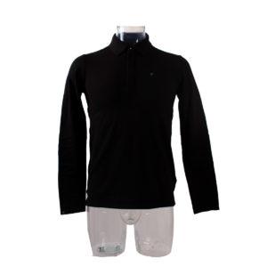 Polo da uomo GUESS di colore Nero collezione autunno inverno capo continuativo abbigliamento firmato uomo ingrosso stock stocchisti grossisti