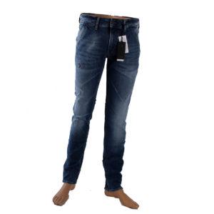 Jeans GUESS da uomo di colore Blu collezione autunno inverno 2016/17 capo continuativo abbigliamento firmato uomo ingrosso stock grossisti stocchisti