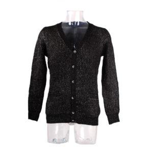 Cardigan ANTONY MORATO di colore Nero collezione autunno inverno 2016/17 prodotto continuativo abbigliamento uomo firmato ingrosso grossisti stock stocchisti