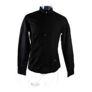 Camicia da Uomo GUESS di colore Nero collezione autunno inverno abbigliamento firmato uomo ingrosso stock grossisti stocchisti
