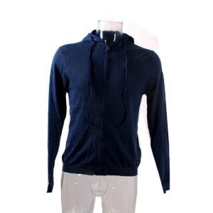 Felpa GUESS da Uomo di colore Blu collezione autunno inverno abbigliamento firmato uomo ingrosso stock stocchisti grossisti
