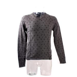 Maglia GUESS da Uomo di colore Grigio collezione autunno inverno abbigliamento firmato uomo ingrosso stock stocchisti grossisti