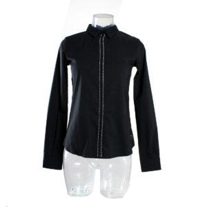Camicia di colore Nero con brillantini FRACOMINA nuova collezione primavera estate 2017 ingrosso grossisti stock stocchisti abbigliamento firmato donna grandi firme emilia romagna