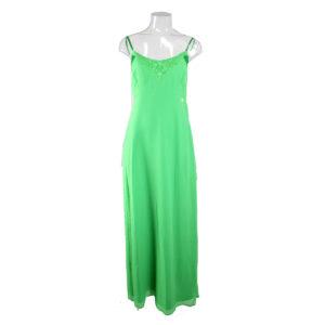 Abito lungo di colore Verde FRACOMINA da donna nuova collezione primavera estate abbigliamento firmato donna emilia romagna ingrosso vendita abbigliamento stock grossisti stocchisti