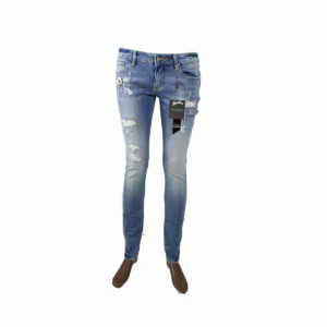 Jeans con strass Rosa FRACOMINA da donna collezione primavera estate abbigliamento firmato donna accessori firmati emilia romagna ingrosso vendita abbigliamento stock grossisti stocchisti