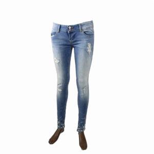 Jeans con strass FRACOMINA da donna nuova collezione primavera estate abbigliamento firmato donna emilia romagna ingrosso vendita abbigliamento stock grossisti stocchisti