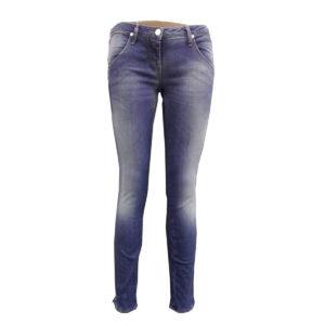 Jeans di colore Blu sfumato MET donna abbigliamento firmato donna accessori firmati emilia romagna ingrosso vendita abbigliamento stock grossisti stocchisti