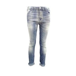 Jeans di colore Blu chiaro MET donna abbigliamento firmato donna accessori firmati emilia romagna ingrosso vendita abbigliamento stock grossisti stocchisti