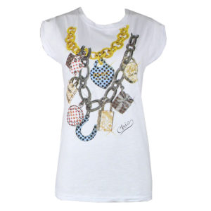 LOTTO DI T-SHIRT DONNA FIRMATE LONDON INK E INVERSO