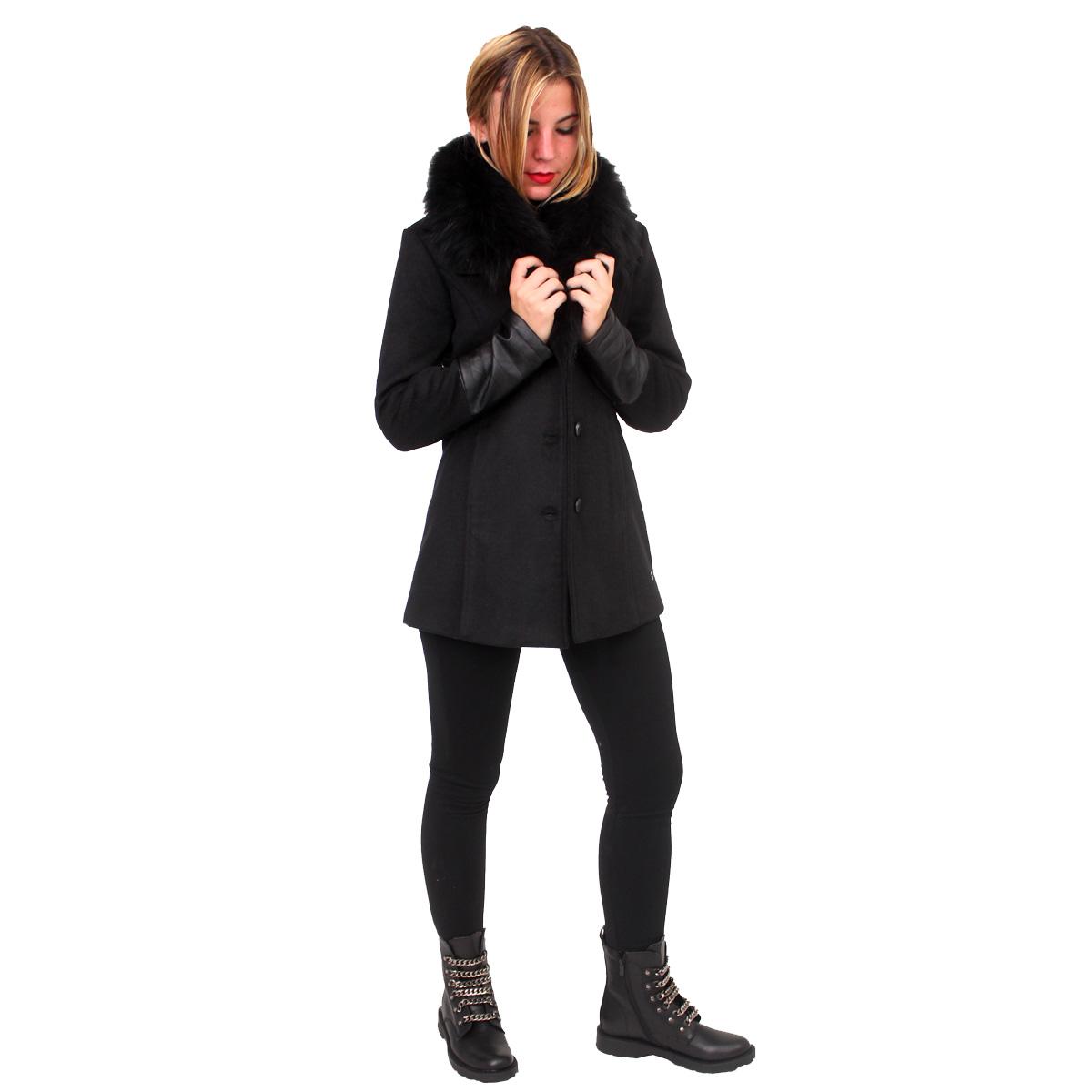 Cappotto con pelo e ecopelle FRACOMINA abbigliamento firmato donna  accessori firmati emilia romagna ingrosso vendita abbigliamento ... cfbf4178b71