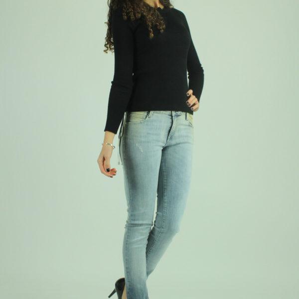 Jeans effetto sfumato MET