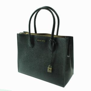 Borsa shopping colore nero MICHAEL KORS abbigliamento firmato donna accessori firmati emilia romagna ingrosso vendita abbigliamento stock grossisti stocchisti