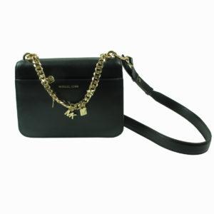 Pochette colore nero con ciondoli MICHAEL KORS abbigliamento firmato donna accessori firmati emilia romagna ingrosso vendita abbigliamento stock grossisti stocchisti
