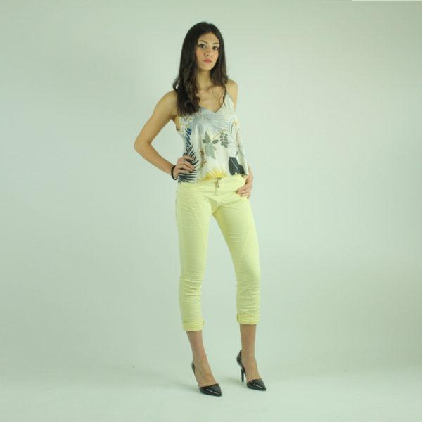 Pantaloni colore giallo PLEASE