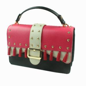 Pochette con borchie LIU-JO abbigliamento firmato donna accessori firmati emilia romagna ingrosso vendita abbigliamento stock grossisti stocchisti