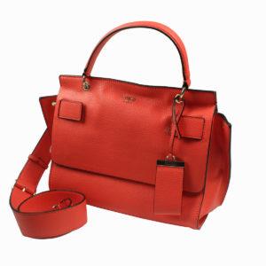 Borsa a mano colore corallo GUESS abbigliamento firmato donna accessori firmati emilia romagna ingrosso vendita abbigliamento stock grossisti stocchisti