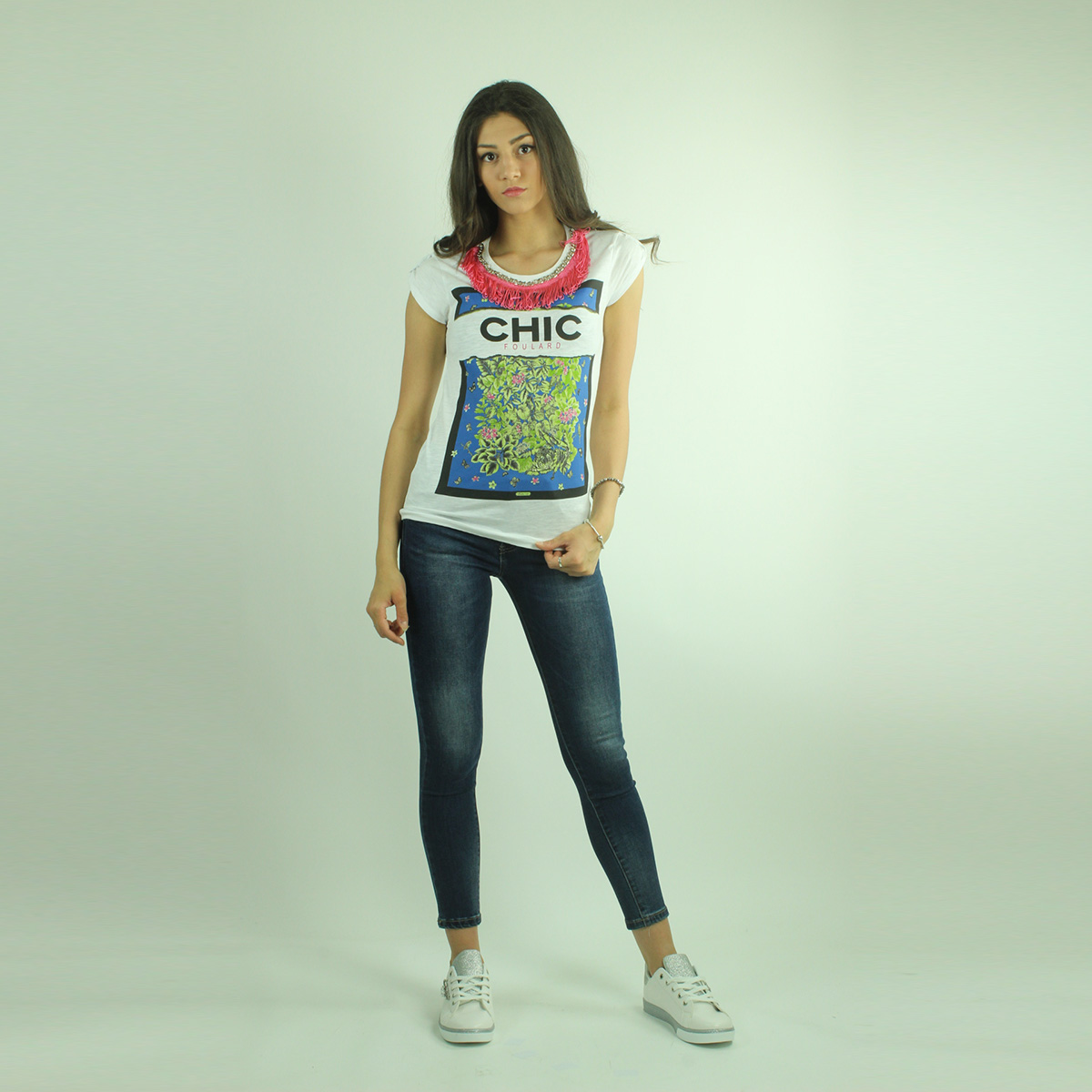 T-shirt donna assortite vari modelli e colori firmate LONDON INK 54f90f15973