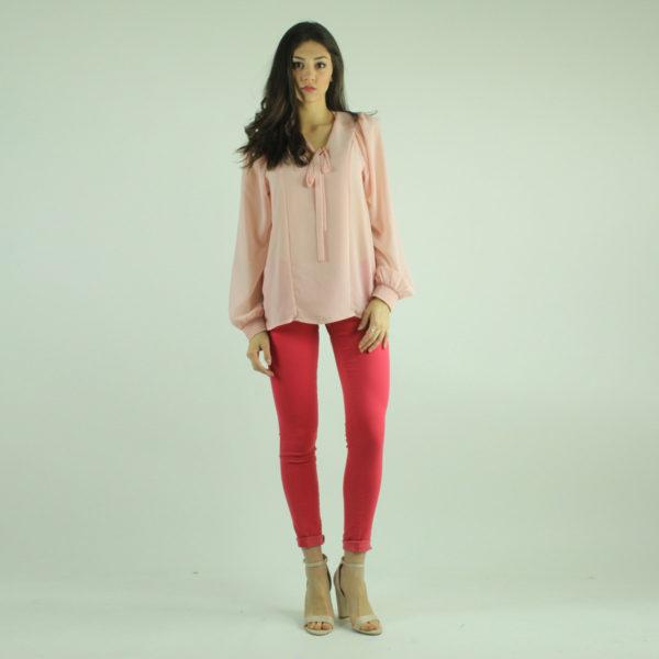 Camicia rosa con fiocco GUESS