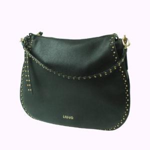 Borsa colore nero con strass LIU-JO abbigliamento firmato donna accessori firmati Emilia Romagna ingrosso vendita abbigliamento stock grossisti stocchisti