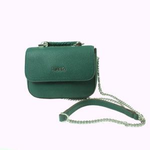 Pochette verde acqua a tracolla LIU-JO abbigliamento firmato donna accessori firmati Emilia Romagna ingrosso vendita abbigliamento stock grossisti stocchisti